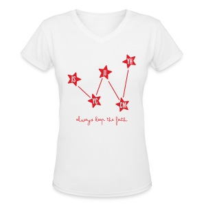 DBSK - Cassiopeia - Women's V-Neck T-Shirt
