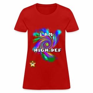 Monkey Pickles HD Attitude - Women's T-Shirt