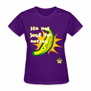 Monkey Pickles Golden Banana - Women's T-Shirt