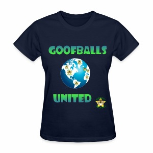 Monkey Pickles Goofballs United - Women's T-Shirt