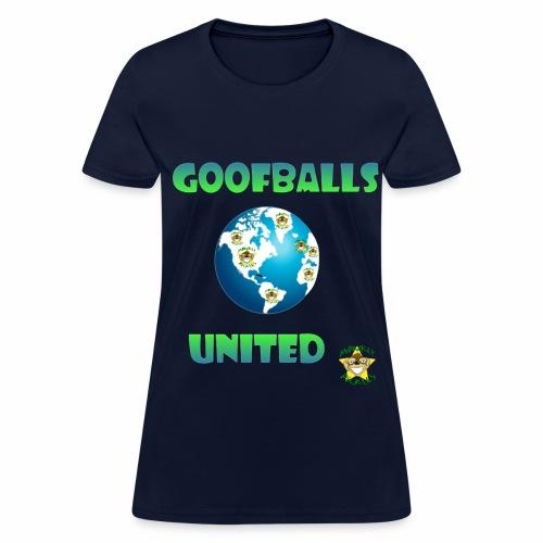 Monkey Pickles Goofballs United - Women's T-Shirt