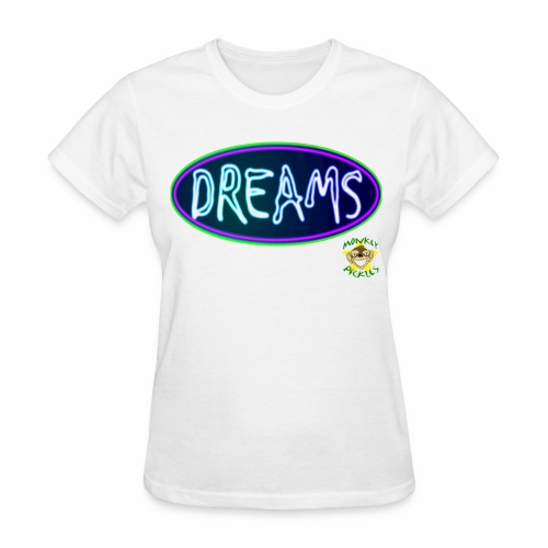 Monkey Pickles Day Dreams - Women's T-Shirt