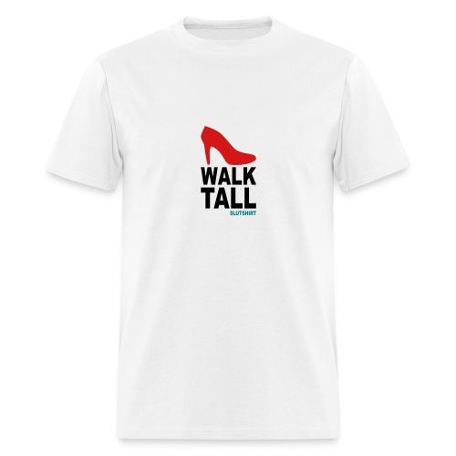 Men's T-Shirt - slutshirt, a T-shirt to get your message trough: SLUT: Sexual Liberation Unveils Tenderness