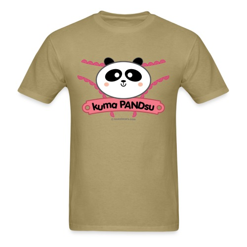 Kuma PANDsu - Men's T-Shirt