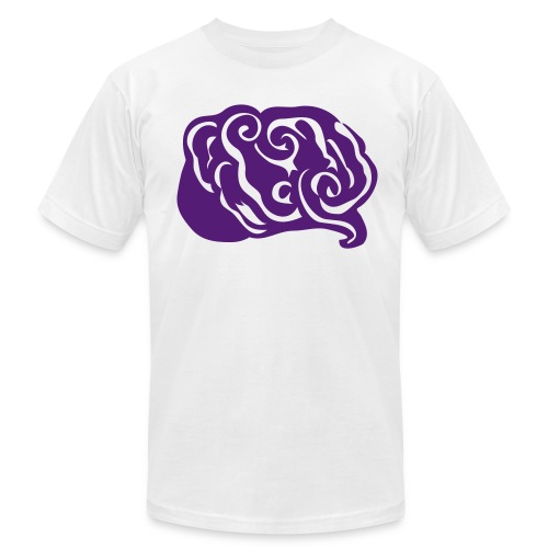 Abstract Art Epilepsy Brain Men's T-Shirt - Men's Fine Jersey T-Shirt
