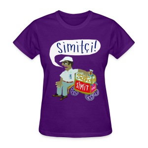 Simit Man from Istanbul - Womens Shirt - Women's T-Shirt