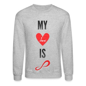 Infinite - My Love is Infinite - Crewneck Sweatshirt