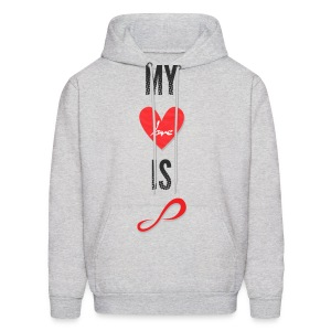 Infinite - My Love is Infinite - Men's Hoodie