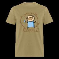T-Shirts ~ Men's T-Shirt ~ OMG Coffee Standard Tee