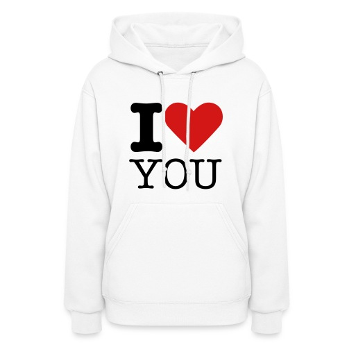 I love you - ('you' can be changed) - Women's Hoodie