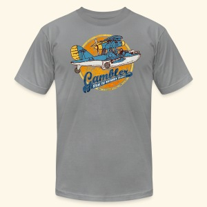 Gambler (Vintageprint) - Men's T-Shirt by American Apparel