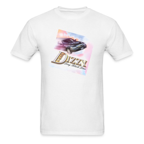 Long Black Limo Album Cover Art T - Men's T-Shirt