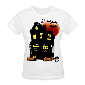 Halloween Mansion - Women's T-Shirt
