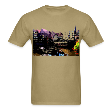 Trip to Europe Luneburg GERMANY Men's Standard Weight T-Shirt