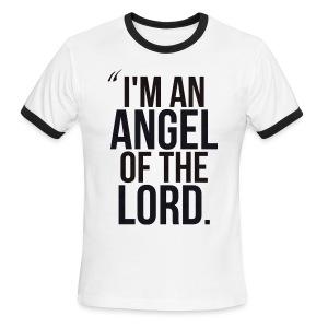 Angel of the Lord - Men's Ringer T-Shirt