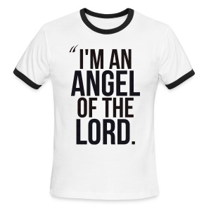 Angel of the Lord - Men's Ringer T-Shirt