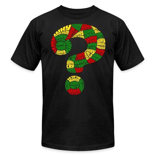 Wordsworth WHY  - Men's  Jersey T-Shirt