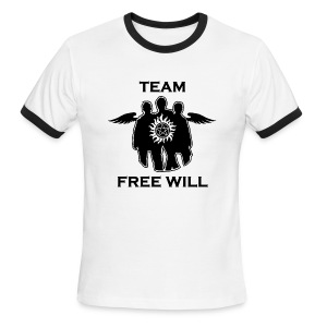 Team Free Will (DESIGN BY MICHELLE) - Men's Ringer T-Shirt