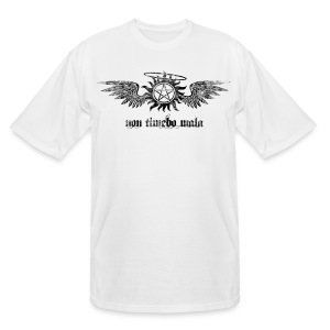 Non Timebo Mala [Distressed] (DESIGN BY MICHELLE) - Men's Tall T-Shirt