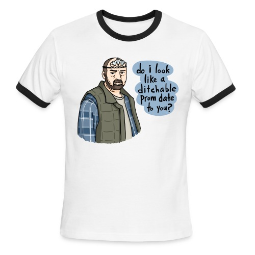Ditchable Prom Date (DESIGN BY MICHELLE) - Men's Ringer T-Shirt