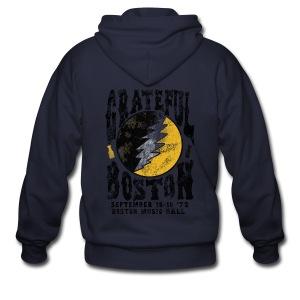 Grateful Boston - Men's Zip Hoodie