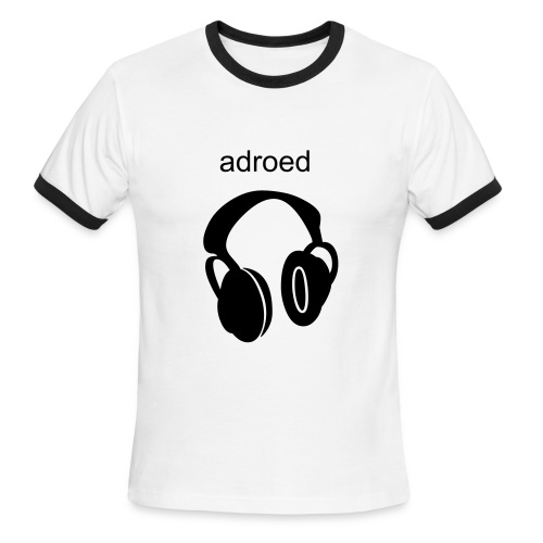 adroed headphone - Men's Ringer T-Shirt
