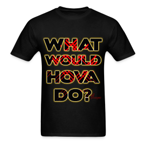 Men's (C.O) GOLD WHAT WOULD HOVA DO? - Men's T-Shirt