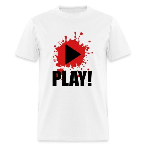 Play Music (Male) - Men's T-Shirt