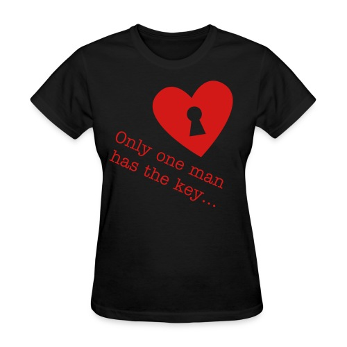 Key to my heart! - Women's T-Shirt