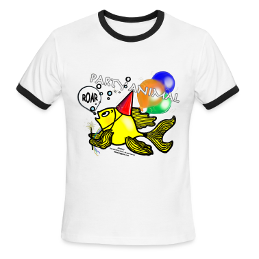 Party Animal Fish - Sparky Range T-shirt