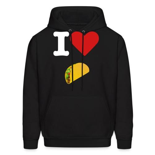 I <3 Tacos - Men's Hoodie