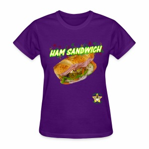Monkey Pickles Ham Sandwich - Women's T-Shirt