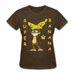 Monkey Pickles Super Banana - Women's T-Shirt