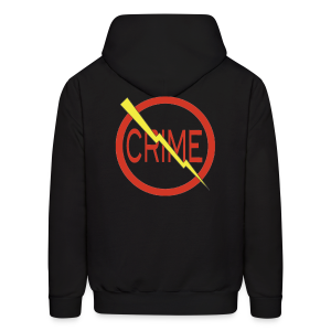 Donald's 'Don't Do Crime hoodie (Front & Back) - Men's Hoodie