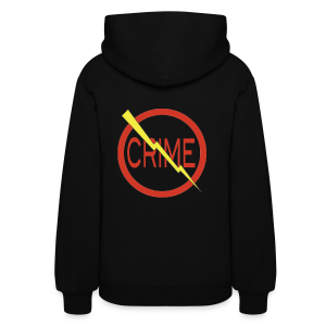 Donald's 'Don't Do Crime Design (Front & Back) - Women's Hoodie