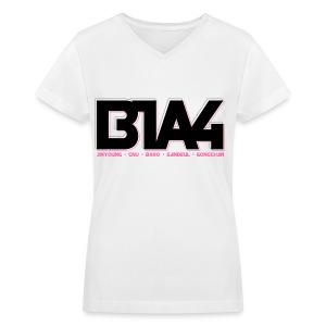 [B1A4] B1A4 - Women's V-Neck T-Shirt