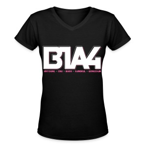[B1A4] B1A4 - Women's V-Neck T-Shirt