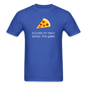 Slices on Main after the game - Men's T-Shirt