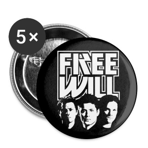 Team Free Will (KISS style) - Large Buttons