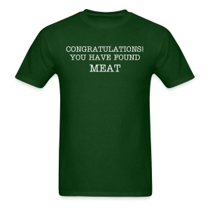 Greet the Meat - Men's T-Shirt