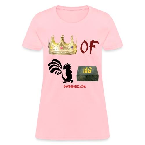 KOCB Symbols  Chinese color Women's Standard Weight T-Shirt - Women's T-Shirt