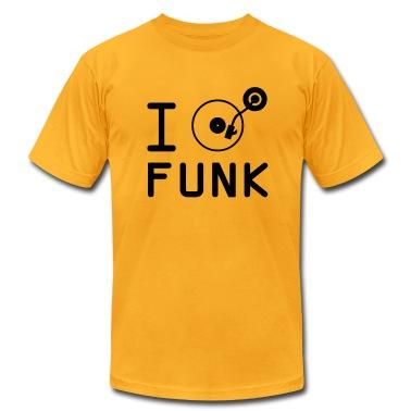 I play Funk / I love Funk / DJ Vinyl T-Shirts