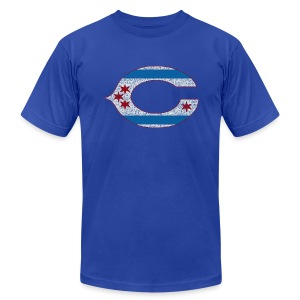 Chicago C - Men's T-Shirt by American Apparel