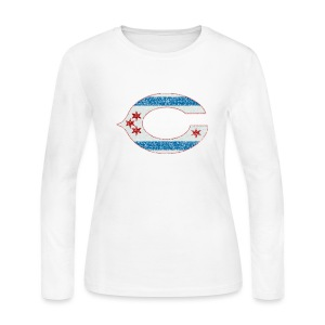 Chicago C - Women's Long Sleeve Jersey T-Shirt