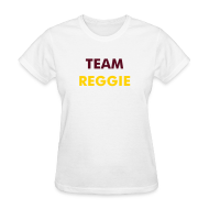 Women's T-Shirts ~ Women's T-Shirt ~ Ladies Team Reggie - White