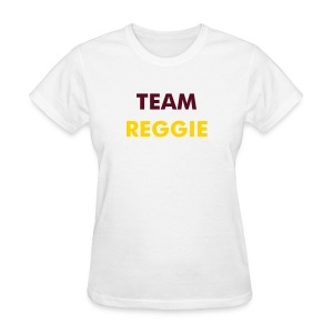 Ladies Team Reggie - White  - Women's T-Shirt