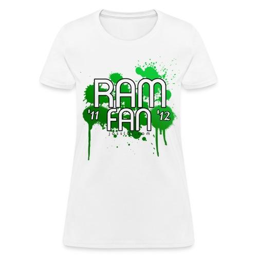 Women's Ram Fan '11-'12 T-Shirt  - Women's T-Shirt