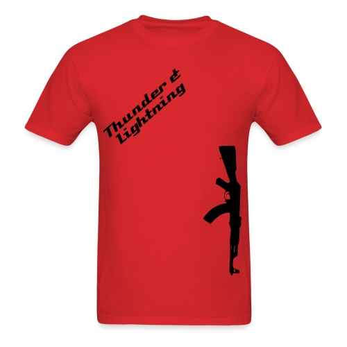 Thunders Name - Men's T-Shirt