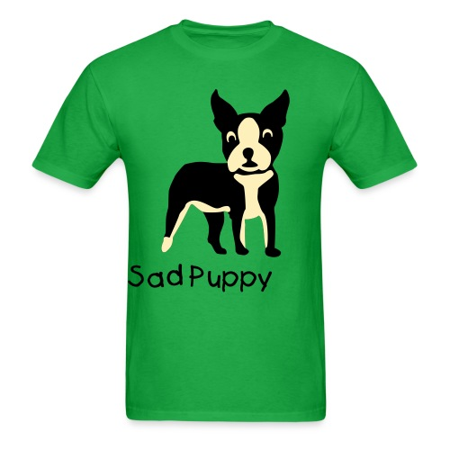 Sad Puppy - Men's T-Shirt
