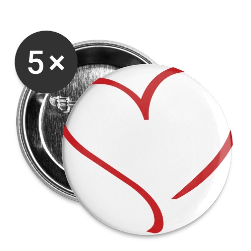 Heart - Large Buttons